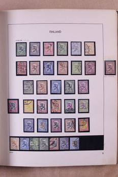 Finland 1860/1988 – Collection in old Davo standard album