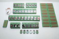 Fleischmann H0 - 519/6940/508/6941 a.o. - switches, rectifiers, distribution plates
