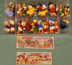 """Walt Disney-collection """"Mickey Mouse Kinder Ferrero"""" 23 characters"""