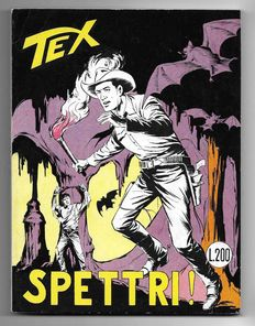 Tex, giant album no. 80, original, 1st edition with supplement - (1967)