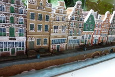 100 year Blokker - 27 Canal houses with canal