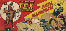 Collana del Tex - 1st series, strip no. 6 original - (1948)