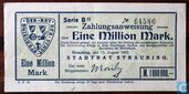 Straubing 1 Million Mark 1923