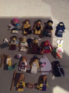 Collectable Minifigures - 8831 - Minifigures Series 7 - Complete set of 16 minifigures