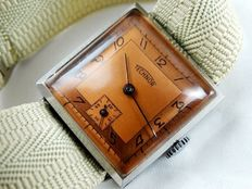 TECHNOR/TECHNOS - WWII military SWISS men's watch from the 1940s.