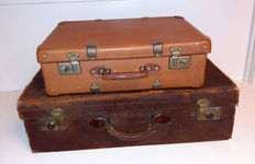 Two decorative suitcases - 1950s/1960s