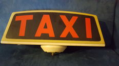 Original taxi sign - Milan
