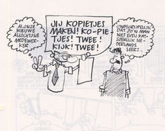 De Jager, Gerrit - 5 Original sketch pages - Familie Doorzon - (1997)