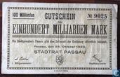 Passau 100 Milliard Mark 1923