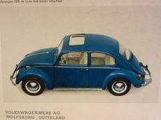50 VOLKSWAGEN brochures from Beetle to Golf. From the 1960s.
