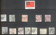 Great Britan, Guernsey, Isle of Man 1880-1990 - Collection on Stock Sheets
