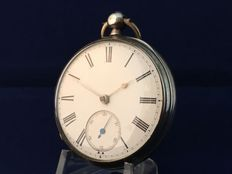 Pocket watch – 1876 – Fusee – Open face