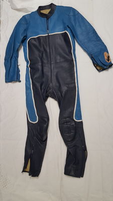 Gaman - motorcycle leather suit - ca. 1960s