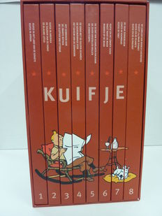 Kuifje - Luxe box Casterman - rode uitgave - complete reeks in cassette - hc - (2015)