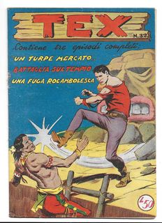 Tex, fortnightly issue - 1st series, Albo d'Oro, no. 32 - (1953)