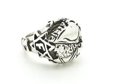 Silver Ajax Amsterdam ring 'F-Side'