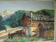 Louis Jacques Vigon - (1897 - 1985 ) Hautes Alpes
