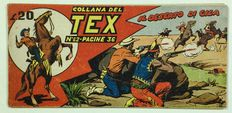 Collana del Tex - 2nd series no. 62 - (1951)