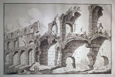 Bonaventura van Overbeek (around 1660-1706) - Colosseum II View - 1708