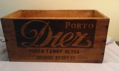 "Wooden box ""Porto Diez"" for Wine- 1970s"