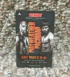 Manny Pacquiao -Mayweather original key card Mgm
