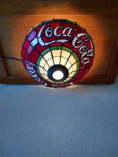 very rare Coca - Cola ceiling light