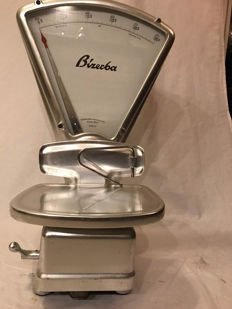 Beautiful authentic stainless steel Bizerba shop scales