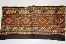 Mafrash Flatweave, Schahsavan-tribes, antique fragment! ca. 86 x 46 cm