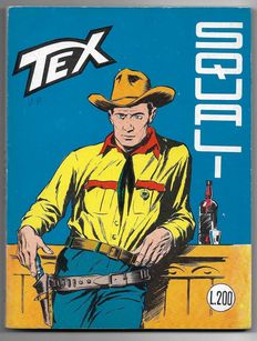 Tex, giant album no. 62, original, 1st edition - (1965)