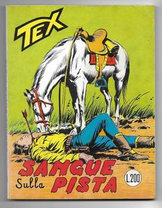 Tex, giant album no. 74, original, 1st edition - (1966)