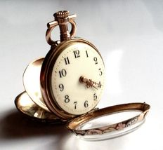 Jaeger Lecoultre & Cie, pocket watch  19th century