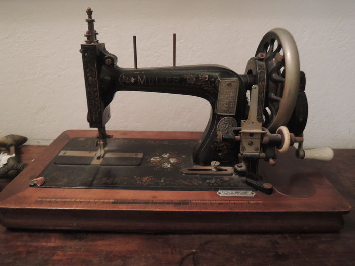 Muller Sewing Machine Early 40s Catawiki Magnificent Muller Sewing Machine