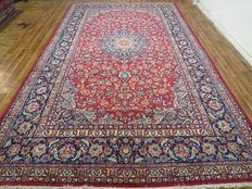 Wonderful Persian carpet, Isfahan / Iran, 498 x 295 cm, end of the 20th century. XXL oversize TOP CONDITION
