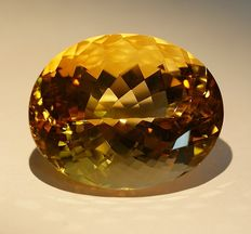 Citrine, orange, 40,07ct