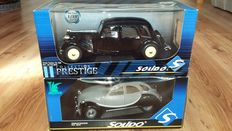 Solido Prestige - Scale 1/18 - Citroën 2CV Charleston & Citroën Traction 11b
