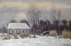 Adriaan Kruseman (1875-1964) - Winter