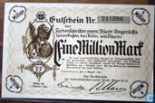 Leverkusen 1 Million Mark 1923