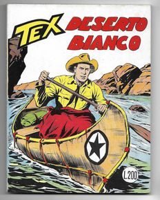 Tex, giant album no. 76, original, 1st edition - (1967)
