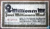 Westfalen 2 Million Mark 1923