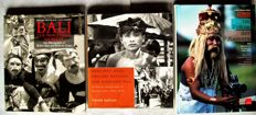Lot of 3 books about the culture of Bali in old photography (Walter Spies, Margaret Mead, and others)