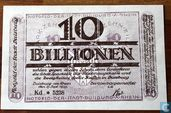 Duisburg 10 Billion Mark 1923