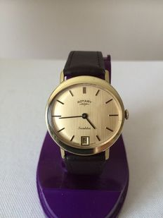 Rotary Cushion Incabloc Mens Watch 1960's