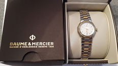 Baume & Mercier Swiss - Women's brand name Riviera model watch, completely overhauled - One year warranty - Invoice from February 23, 2017 provided