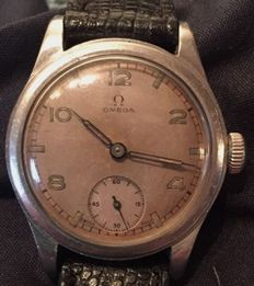 Omega military watch, 1940s, exclusive British staff series