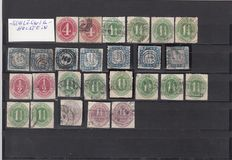 Old Germany / Schleswig - a small collection on stock cards