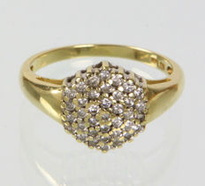 Brilliant - ring - 0.52 ct