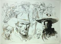Bernet, Jordi - large sized sketch, Tex