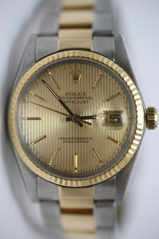 1962 Rolex Datejust unisex wristwatch.