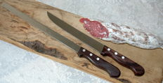 set of 2 handmade kitchen knives from Scarperia, Italy. 21st century