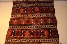Mafrash flatweave, Kurdistan around 1910, ca. 53 x 52 cm